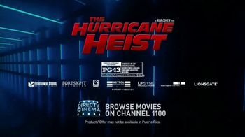 DIRECTV Cinema TV Spot, 'The Hurricane Heist' Song by Scorpions - Thumbnail 7