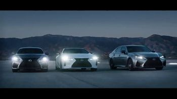 Lexus High Performance Line TV Spot, 'Crafted Extremes' [T1] - 1925 commercial airings
