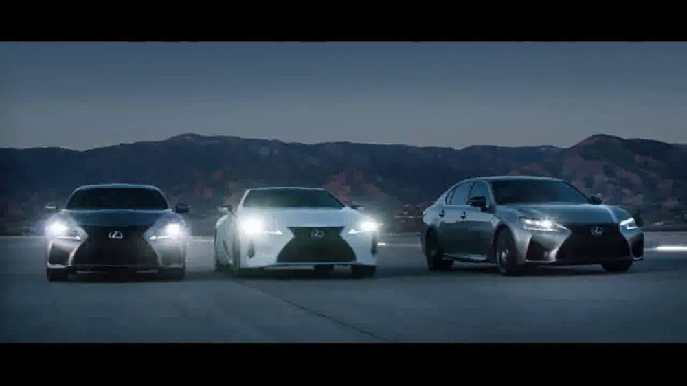 Lexus High Performance Line TV Commercial, 'Crafted Extremes' [T1]