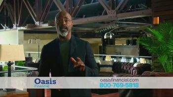 Oasis Financial TV Spot, 'Don't Face It Alone' Featuring Isaiah Washington