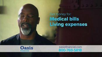 Oasis Financial TV Spot, 'Don't Face It Alone' Featuring Isaiah Washington - Thumbnail 4