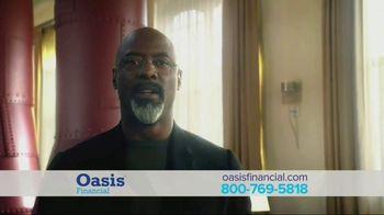 Oasis Financial TV Spot, 'Don't Face It Alone' Featuring Isaiah Washington - Thumbnail 7