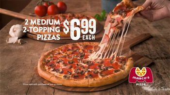Marco's Pizza TV Spot, 'Hello Primo: Two-Topping Pizzas' - Thumbnail 9
