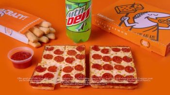 Little Caesars Pizza TV Spot, 'This One's on Chase' Featuring Chase Elliott - Thumbnail 5