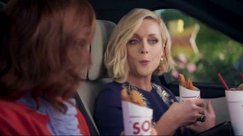Sonic Drive-In Crispy Tender Dinner TV Spot, 'Flispy' Feat. Jane Krakowski - Thumbnail 3