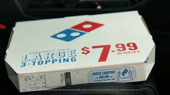 Domino's TV Spot, 'Paving for Pizza: Inside Out' - Thumbnail 3