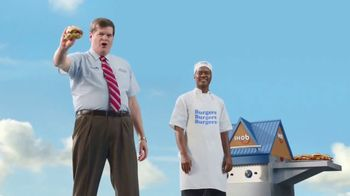 IHOP Ultimate Steakburger Combos TV Spot, 'IHOb: Burgers, Burgers, Burgers' - 1146 commercial airings