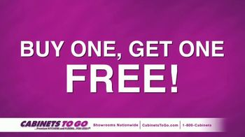 Cabinets To Go TV Spot, 'June Buy One Get One' Featuring Bob Vila