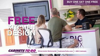 Cabinets To Go TV Spot, 'June Buy One Get One' Featuring Bob Vila - Thumbnail 5