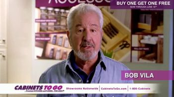 Cabinets To Go TV Spot, 'June Buy One Get One' Featuring Bob Vila - Thumbnail 6