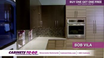 Cabinets To Go TV Spot, 'June Buy One Get One' Featuring Bob Vila - Thumbnail 7