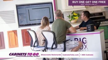 Cabinets To Go TV Spot, 'June Buy One Get One' Featuring Bob Vila - 74 commercial airings