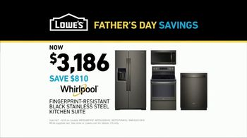 Lowe's Father's Day Savings TV Spot, 'Oven: Whirlpool Suite' - Thumbnail 8