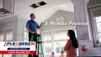 Plumbers 911 TV Spot, 'Disrupted Routine'