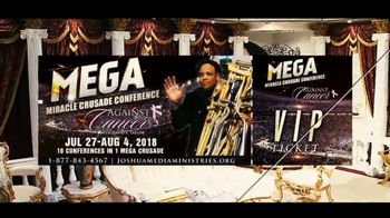 Joshua Media Ministries International TV Spot, '2018 Mega Miracle Crusade' - Thumbnail 6
