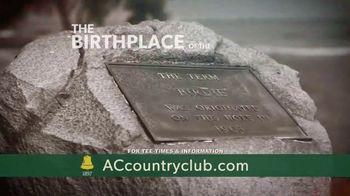Atlantic City Country Club TV Spot, 'Golfing' - Thumbnail 3