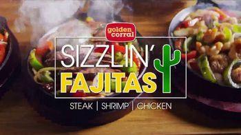 Golden Corral Sizzlin' Fajitas TV Spot, 'Father's Day: Every Night' - Thumbnail 2