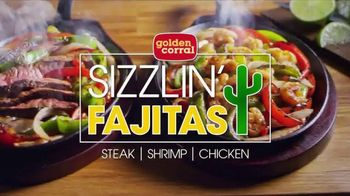 Golden Corral Sizzlin' Fajitas TV Spot, '2018 Father's Day: Every Night'