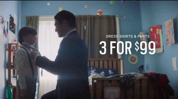 Men's Wearhouse Father's Day Stock Up Event TV Spot, 'Dress Shirts & Pants' - Thumbnail 5