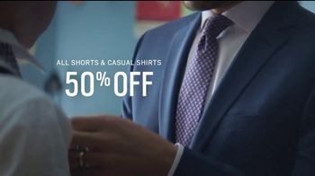 Men's Wearhouse Father's Day Stock Up Event TV Spot, 'Dress Shirts & Pants' - Thumbnail 6