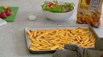 Lamb Weston Grown in Idaho Crispy Fries TV Spot, 'Fry-Friendly Entrees' - Thumbnail 8