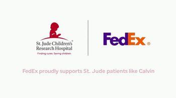 St. Jude Children's Research Hospital TV Spot, 'FedEx Cup: Calvin' - Thumbnail 10