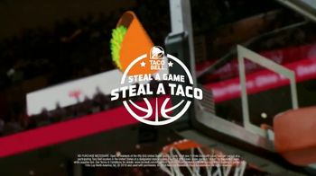 Taco Bell Steal a Game, Steal a Taco TV Spot, 'Let's Go Tacos!' - Thumbnail 10