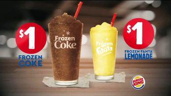 Burger King Frozen Coke TV Spot, 'Refreshing' - Thumbnail 9