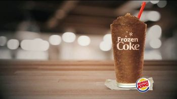 Burger King Frozen Coke TV Spot, 'Refreshing' - Thumbnail 2