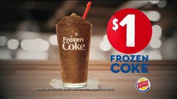 Burger King Frozen Coke TV Spot, 'Refreshing' - Thumbnail 3