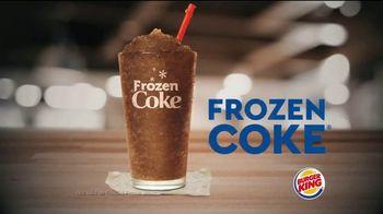 Burger King Frozen Coke TV Spot, 'Refreshing' - Thumbnail 4