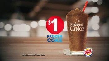 Burger King Frozen Coke TV Spot, 'Refreshing' - Thumbnail 5