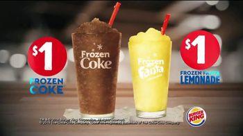 Burger King Frozen Coke TV Spot, 'Refreshing' - Thumbnail 8