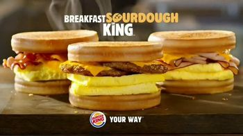 Burger King Bacon & Swiss Sourdough King TV Spot, 'Bacon & Swiss Lovers' - Thumbnail 10