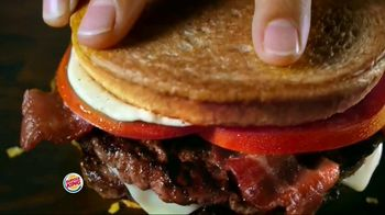 Burger King Bacon & Swiss Sourdough King TV Spot, 'Bacon & Swiss Lovers' - Thumbnail 6
