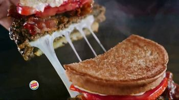Burger King Bacon & Swiss Sourdough King TV Spot, 'Bacon & Swiss Lovers' - Thumbnail 7