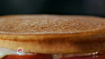Burger King Bacon & Swiss Sourdough King TV Spot, 'Bacon & Swiss Lovers' - Thumbnail 8