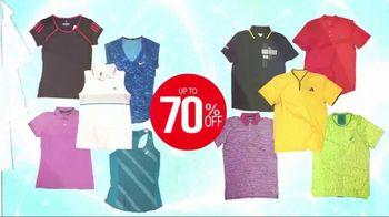 Tennis Express Summer Sale TV Spot, 'Shoes and Apparel' - Thumbnail 3