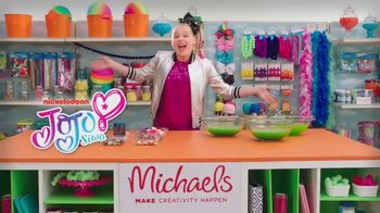 Michaels TV Spot, 'Nickelodeon: JoJo Siwa Making Slime' - Thumbnail 1