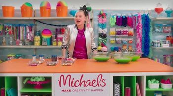 Michaels TV Spot, 'Nickelodeon: JoJo Siwa Making Slime' - Thumbnail 2