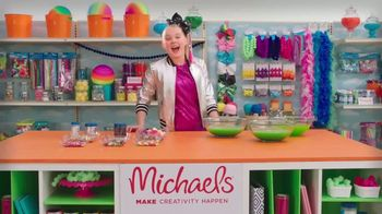 Michaels TV Spot, 'Nickelodeon: JoJo Siwa Making Slime' - Thumbnail 3