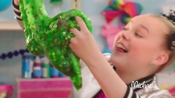 Michaels TV Spot, \'Nickelodeon: JoJo Siwa Making Slime\'