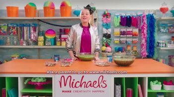 Michaels TV Spot, 'Nickelodeon: JoJo Siwa Making Slime' - Thumbnail 7