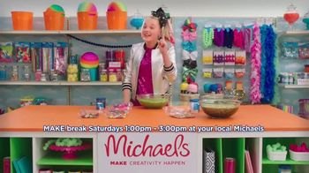 Michaels TV Spot, 'Nickelodeon: JoJo Siwa Making Slime' - Thumbnail 8