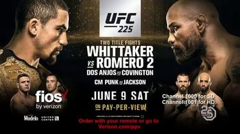 UFC 225 TV Spot, 'Whittaker vs. Romero 2: You Ain't Seen Nothin' Like This' - 229 commercial airings