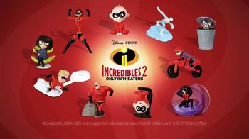 McDonald's Happy Meal TV Spot, 'Incredibles 2: Incredibly Busy Family' - Thumbnail 8