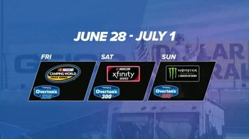 2018 Stars & Stripes NASCAR Weekend TV Spot, 'Midsummer Racing' - Thumbnail 7