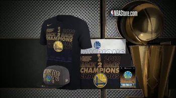 NBA Store TV Spot, '2018 Championship Collection' - Thumbnail 5