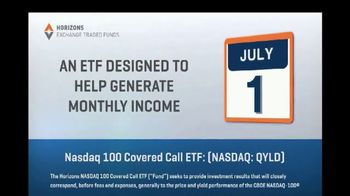 Horizons Exchange Traded Funds TV Spot, 'Generate Monthly Income' - Thumbnail 4