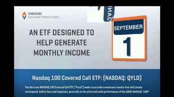 Horizons Exchange Traded Funds TV Spot, 'Generate Monthly Income' - Thumbnail 5